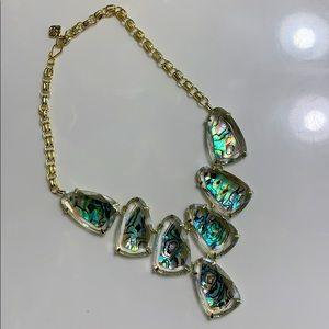Kendra Scott Abalone Harlow Necklace
